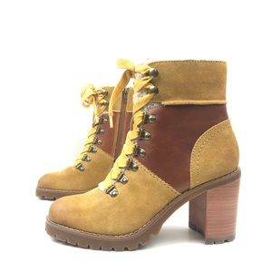 Frye & Co Rayner Hiker Lace Up Combat Boots